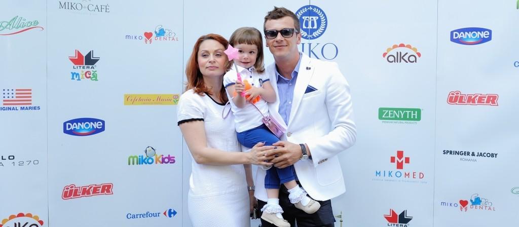 Cristina Pocora, Dan Cruceru si fiica lor Sophia